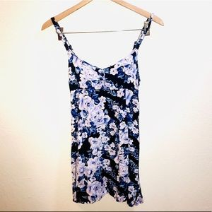 [MINKPINK] Blue Floral Mini Dress